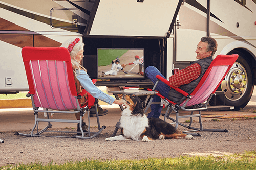 Watch DISH TV Outdoors in the RV- ONEONTA, AL - Direct Vision - DISH Authorized Retailer